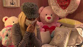 Gloria sufría de abusos físicos y psicológicos por parte de su pareja.