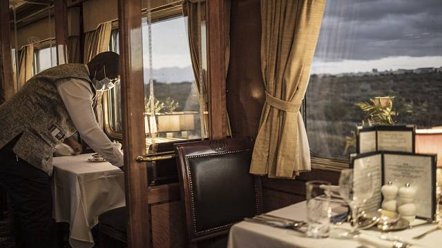 Escape from Covid: South Africa's luxury 'Blue Train'