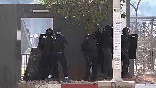 Krawalle im Senegal nach Verhaftung des Oppositionsführers