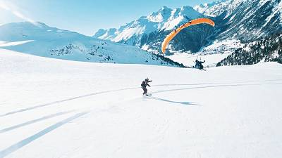 The X-project combines extreme sports with snow