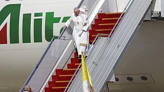 Llegada a Irak del papa Francisco