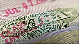 ختم تأشيرة أمريكية