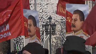 Акция КПРФ, посвящённая 68-й годовщине смерти Сталина