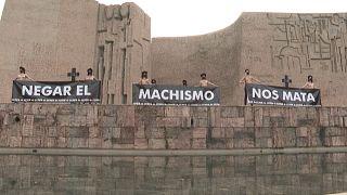 Madrid'de Femen protestosu