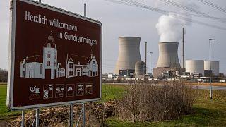 Gundremmingen'de bir nükleer enerji santrali, Almanya