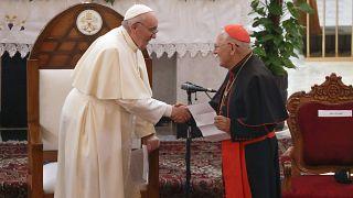 """Francisco tiende la mano en Irak para buscar """"la unidad entre todos los hijos de Dios"""""""