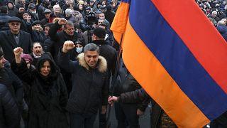 Armenia Politics crisis