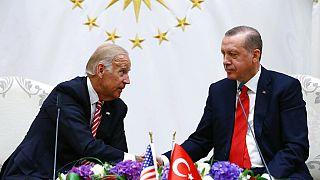 Joe Biden ve Recep Tayyip Erdoğan, 24 Ağustos 2016, Ankara
