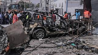 At least 20 killed in Somalia suicide bomb blast