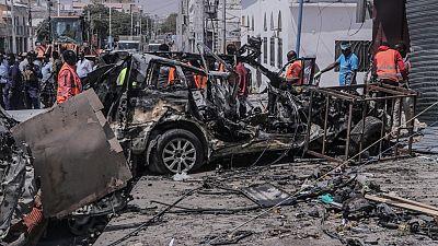 At least 10 killed in Somalia suicide bomb blast