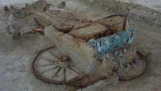 Η άμαξα που βρέθηκε στη Θράκη