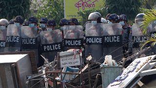 Myanmar, Hindistan'a sığınan güvenlik güçlerinin iadesini istedi / Arşiv