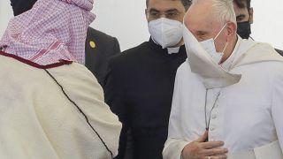 Papa Francisco encontra-se com Aiatolá Al-Sistani