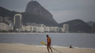 Restrictions on Rio's Copacabana beach as COVID-19 cases rise