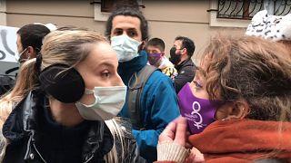 Kadıköy'de trans aktivistlere gözaltı