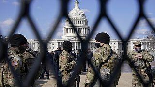 Η Εθνοφρουρά φυλάει το Καπιτώλιο