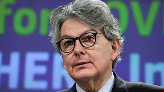 AB Komisyonu İç Pazar Temsilcisi Thierry Breton