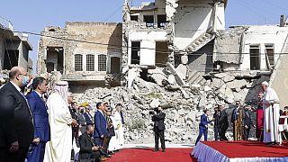 Karakosban folytatódott Ferenc pápa iraki látogatása