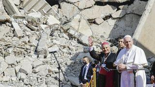 البابا في الموصل