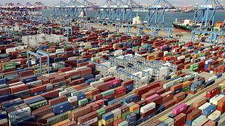 Çin, Ocak ve Şubat aylarında 103 milyar dolar ticaret fazlası verdi.