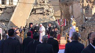 Papa Francis Erbil ve Musul'u ziyaret etti