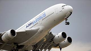 Airbus A380 a 2018-as párizsi légiparádén.