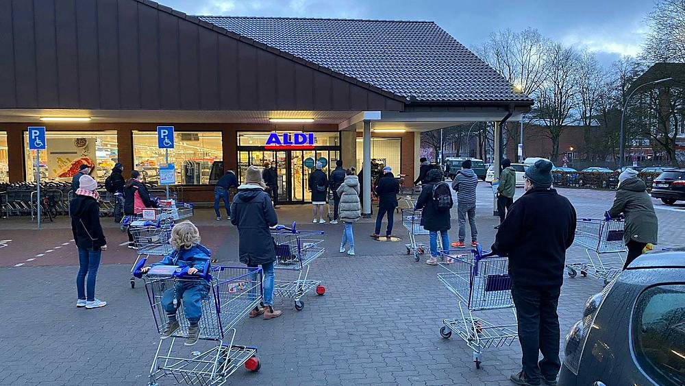 Rapid COVID tests available in German supermarkets as Europe records 1 million COVID cases