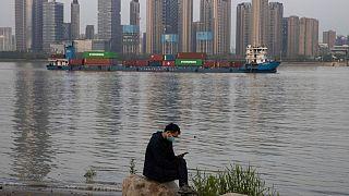 تجارت خارجی چین از طریق رودخانه شهر ووهان