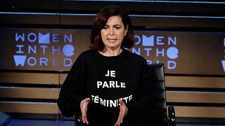 Kampanyayı imzalayanlardan İtalyan politikacı Laura Boldrini
