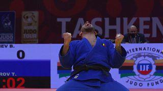 Judo : le Belge Toma Nikiforov remporte une médaille d'or à Tachkent