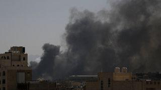 حملات هوایی عربستان به صنعا
