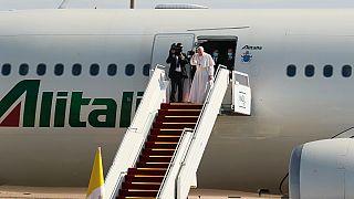 Hazaindult Irakból Ferenc pápa