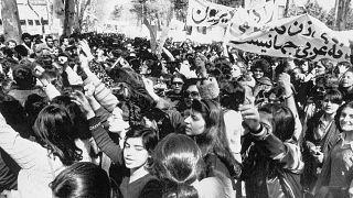 تظاهرات زنان ایران در ۸ مارس ۱۹۷۹/ کمتر از یک ماه پس از پیروزی انقلاب
