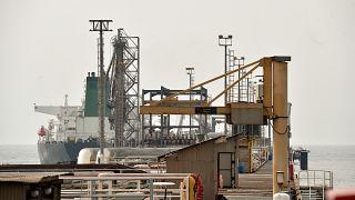 Basra Körfezi'ndeki Hark Petrol Terminali