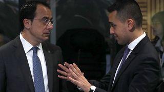 Οι Υπουργοί Εξωτερικών Κύπρου και Ιταλίας