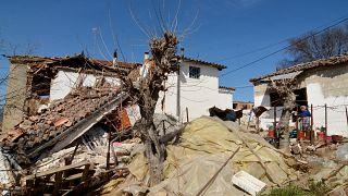 Καταστροφές από τον σεισμό στην Ελασσόνα