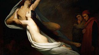 Ary Scheffer, Francesca da Rimini e Paolo Malatesta, 1855, olio su tela - Parigi, Louvre