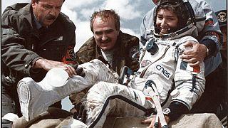 Claudie Haigneré, première Française à être allée dans l'espace