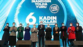 Erdoğan'dan kadına yönelik şiddet açıklaması: Meclis'te yeni bir komisyon oluşturuyoruz