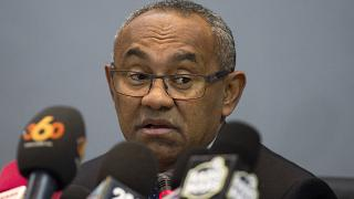 أحمد أحمد الرئيس السابق للاتحاد الأفريقي لكرة القدم (كاف)