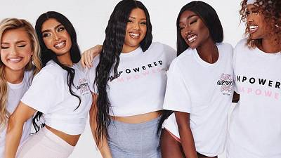 Pretty Little Thing is selling t-shirts related to women's empowerment, while its parent company is under investigation for modern slavery.