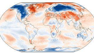 Anomalía de temperaturas del mes de febrero respecto a la serie histórica 1991-2020