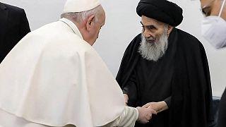 Papa Francis ile Şii lider Sistani görüşmesi
