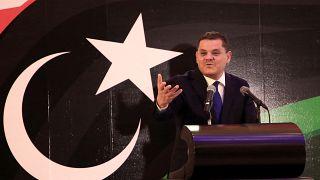 Libya's Prime minister-designate Abdel Hamid Dbeibah cavasses support in parliament