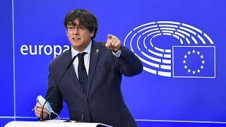 Parlamento europeu vota levantamento da imunidade de Puigdemont