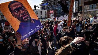 تظاهرات روز دوشنبه در مینیاپولیس