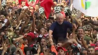 Lula durante la última campaña electoral