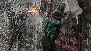 Manifestaciones por el Día Internacional de la Mujer en México
