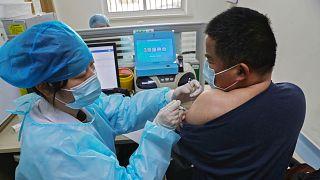 Çin'de dijital aşı pasaportu uygulaması başladı / Arşiv