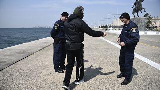 Greece controls covid